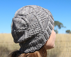 Windshield hat pattern
