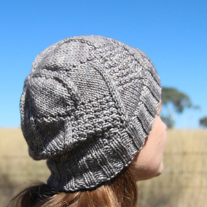 Windshield hat knitting pattern